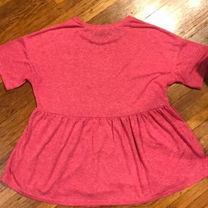 New Look Tops - Short Sleeve Pink  Maternity Top